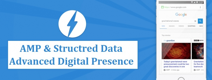 Advanced Digital Presence with AMP and Structured Data